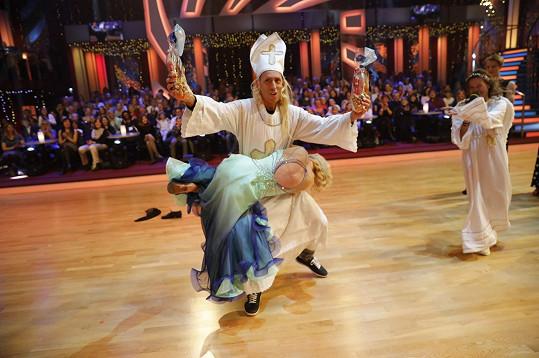 Zdeněk Chlopčík a jeho mikulášské taneční kreace