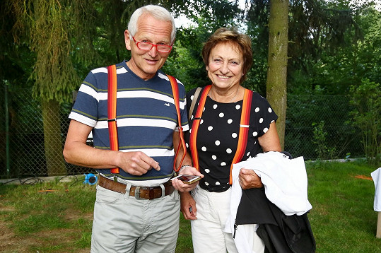 Profesor Jan Pirk s manželkou Blankou