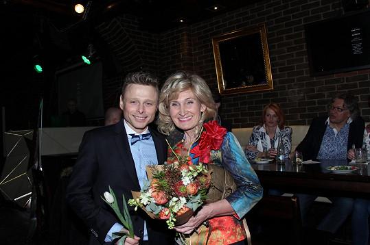 Zuzana Bubílková křtila Jarkovi desku už před pětadvaceti lety.