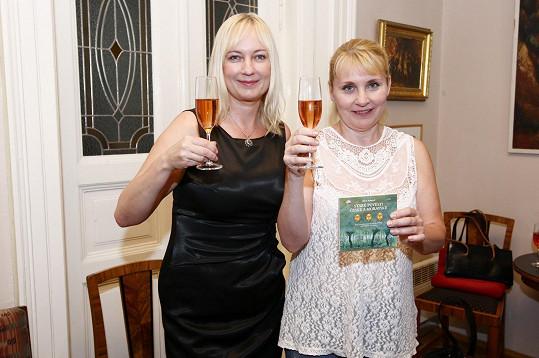 Veronika Gajerová s autorkou audioknihy Alenou Ježkovou