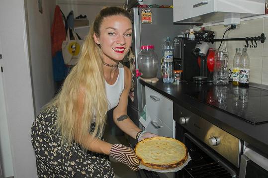 Markéta ráda uvaří něco dobrého.