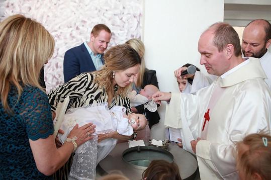 Obřad proběhl v kostele sv. Terezie.