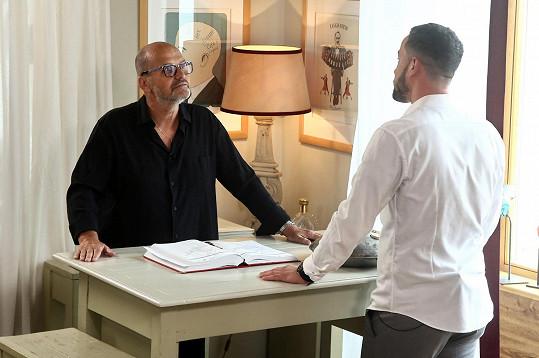 V seznamování bude Patrikovi pomáhat Zdeněk Pohlreich, který se postará o první večeři ve vlastní restauraci.