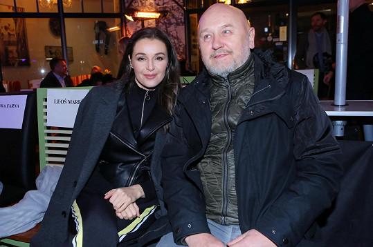 Iva Kubelková s partnerem