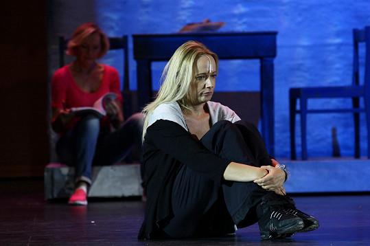 A jako Donna v muzikálu Mamma Mia!