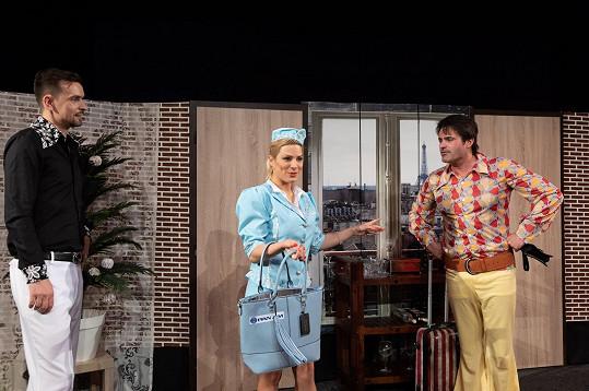 Eva si zahraje s Mirkem Šimůnkem a Vojtou Eflerem.