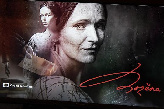 Uvidíme ji ve čtyřdílném filmu o Boženě Němcové, kde ztvárnila starší podobu spisovatelky.