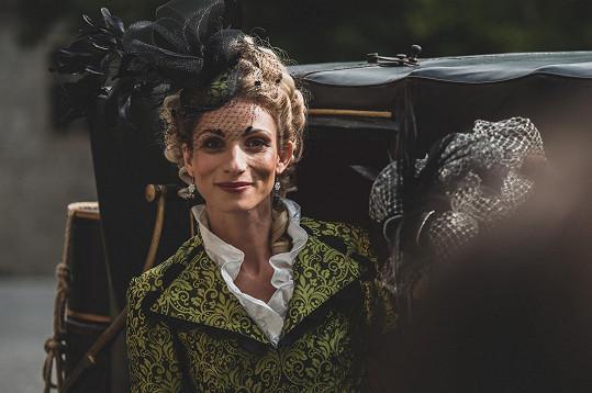 Společně se Zuzanou Kanócz, která ztvárnila zlou manželku králova bratra Henrietu.