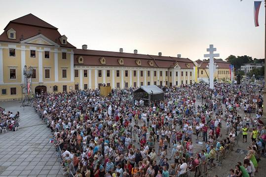 Vystoupení slovenského umělce proběhlo na Velehradě v rámci akce Dny lidí dobré vůle.