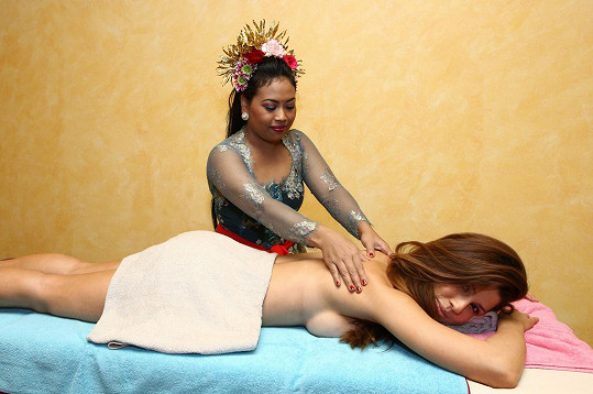 Speciální masáž ji nadchla.