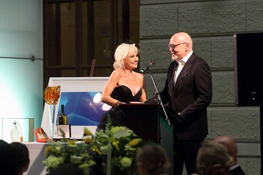 Večer moderoval Marek Vašut.