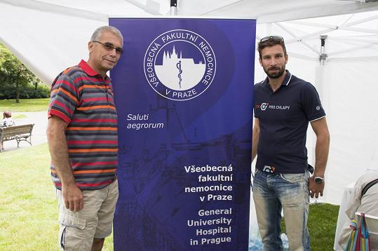 Petr Koukal junior a Petr Koukal senior