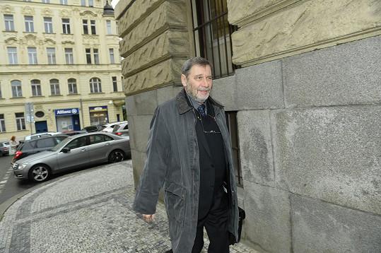 Ředitel Divadla na Vinohradech Tomáš Töpfer nesměl na rozloučení chybět.