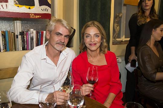 A s partnerem Miroslavem Ollém