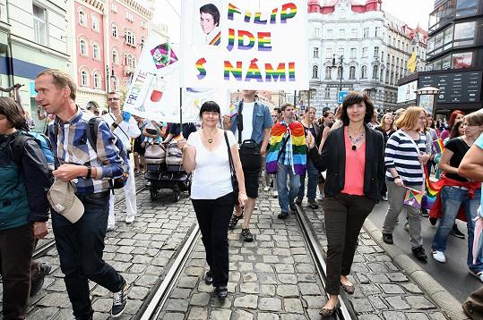 Ester Janečková si nenechala ujít letošní Prague Pride.