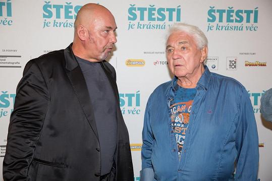 S bývalým manažerem Ivety Bartošové a Jiřího Pomeje Pavlem Páskem.