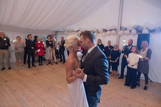 Novomanželský taneček...