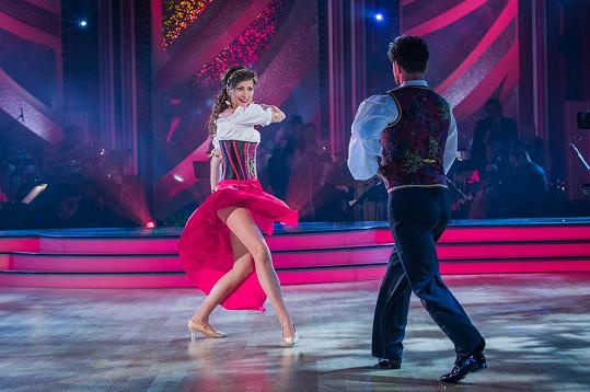 Daniela předvedla s Michalem krásné tango.