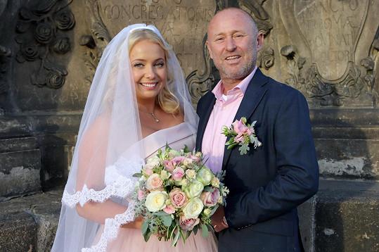 Markéta se vdala na podzim 2017 za Martina Fassatiho.