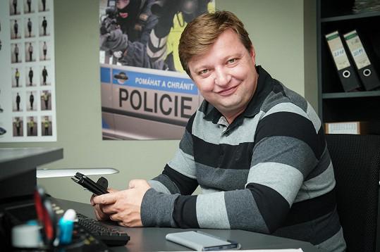 """Michal Isteník se coby """"ajťák"""" představí v nové detektivce."""