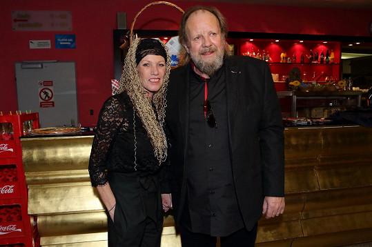 Lešek s manželkou Alenou