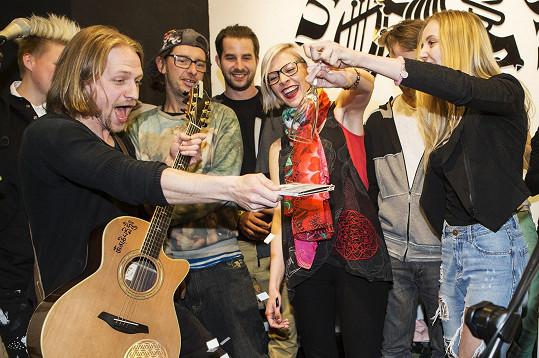 Tomáš Klus pokřtil živé dvojalbum.
