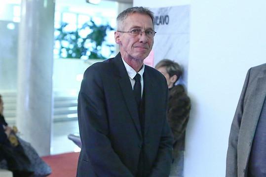 János Bán se přišel naposledy rozloučit s Mariánem Labudou.