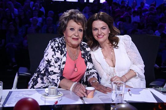 Jiřina Bohdalová a Marta Jandová