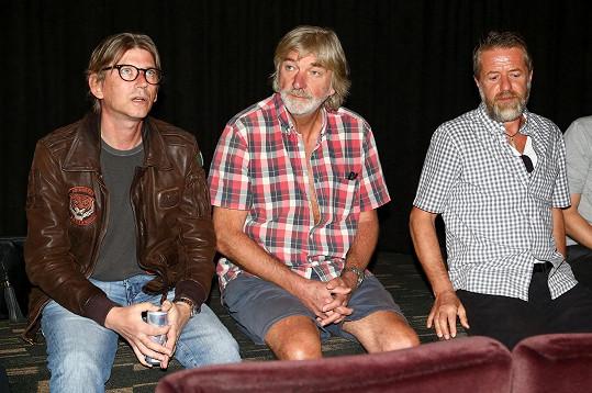 Vladimír Kratina, Jiří Strach a Jiří Langmajer vzpomínali na natáčení závěrečné série krimi seriálu Labyrint.
