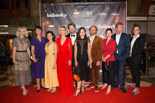 Doplněný o další hvězdy na slavnostní premiéře v kině Lucerna