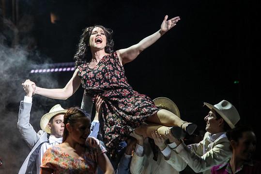 Evitu Perón zbožňovaly davy.