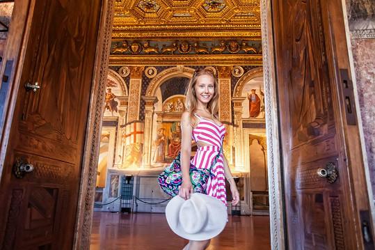 Z Florencie byla nadšená.