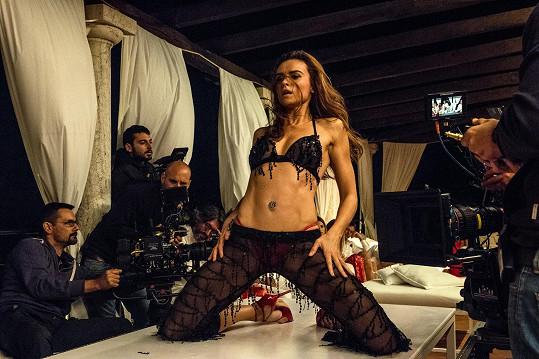 Kasia Smutniak ztvárnila v novém filmu Paola Sorrentina modelku Kiru.