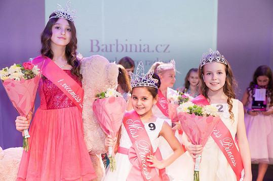 Vítězkou v kategorii Mini Miss Princess dívek ve věku 4-6 let se stala Karin a v kategorii Miss Princess dívek ve věkovém rozmezí 7-12 let se stala Maruška.