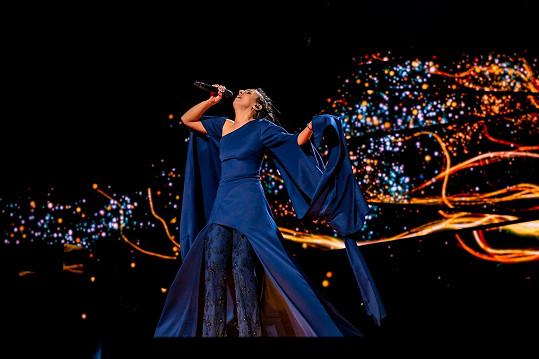 Vítězka Eurovize 2016 ukrajinská zpěvačka Jamala