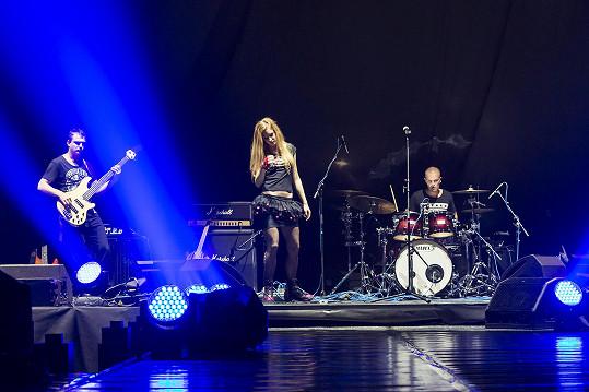 Sabina Křováková se svou kapelou