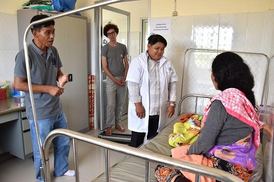 Honza také navštívil nemocnici, kterou lidé z Člověka v tísni postavili ve východní Kambodži.