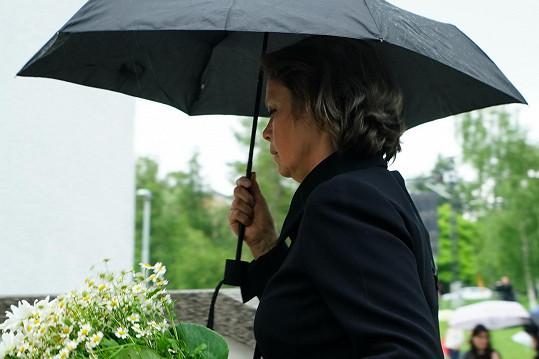 Sestra Libuše Šafránkové, herečka Miroslava Šafránková