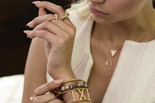 Mužíková ve středu nebude chybět na otevření prodejny šperků, které propaguje.