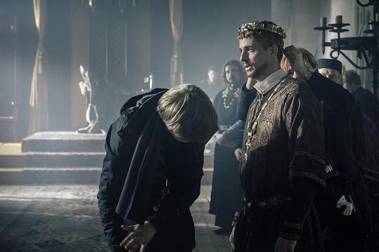 Goode natáčí hlavně na hradě Zvíkov.