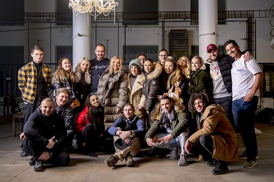 Společné foto celého týmu