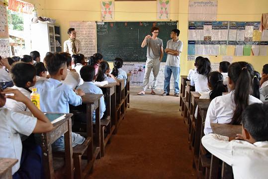 Návštěva místní školy