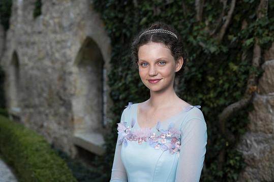 Darija Pavlovičová jako princezna Hanka v pohádce O léčivé vodě