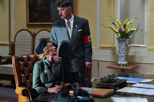 S Lenkou Vlasákovou v roli Magdy Goebbelsové