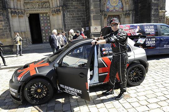 Závodní auto pro rallye stálo dvacet miliónů korun.