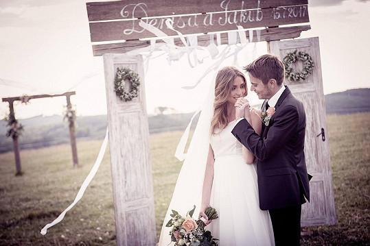 Denisa Domanská se vdala...