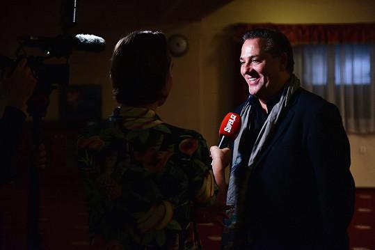Ředitel soutěže Jány během rozhovoru pro Super.cz
