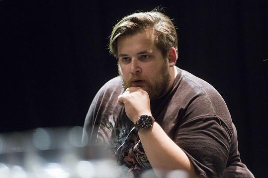 Jan Řezníček si zahraje v nové hře Divadla Bez zábradlí Hra, která se zvrtla.