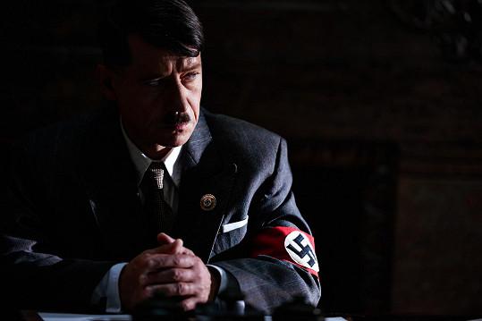 Pavel Kříž ve filmu Lída Baarová jako Adolf Hitler