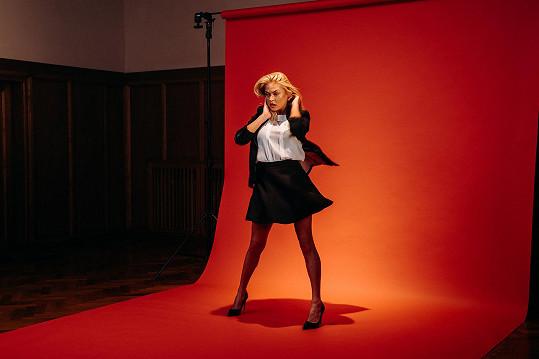 Kristýna je prý talentovaná tanečnice.